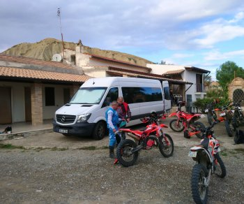 Enduro Andalusien
