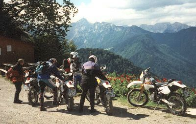 MS²-Enduro-Tour Slowenien - August 2003